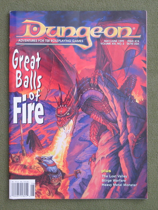 Image for Dungeon Magazine, Issue 74