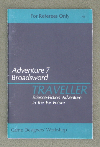 Image for Traveller Adventure 7: Broadsword - 1ST PRINT