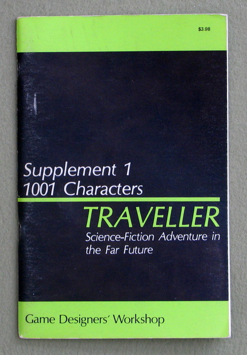 Image for Traveller Supplement 1: 1001 Characters