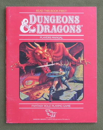 Image for PLAYERS MANUAL: Dungeons & Dragons - PLAY COPY