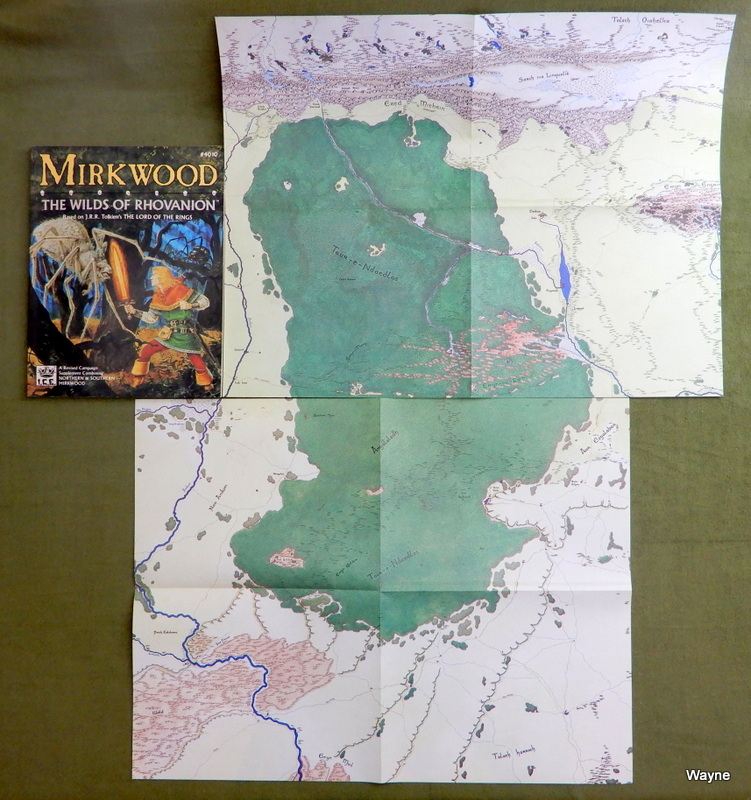 Image for Mirkwood: The Wilds of Rhovanion (MERP/Middle Earth Role Playing)