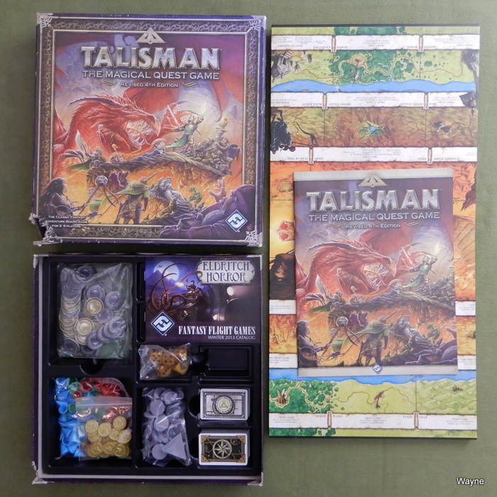 Image for Talisman (Revised 4th Edition) - CORNER CHEW