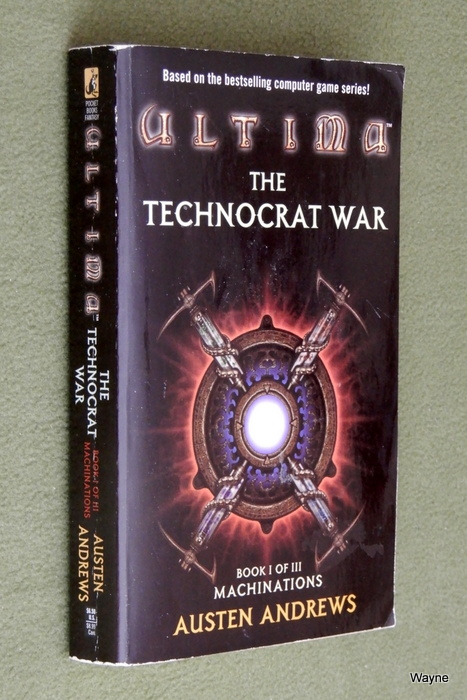 Image for Machinations (Ultima: Technocrat War, Book I)