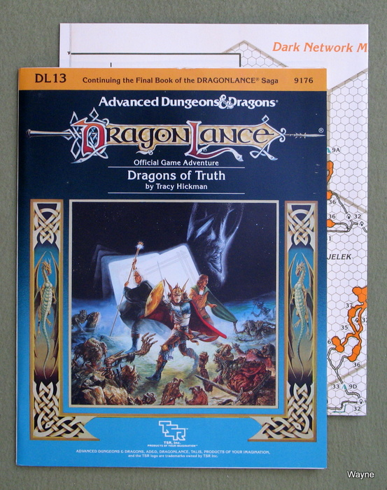 Image for Dragons of Truth (Advanced Dungeons & Dragons / Dragonlance Module DL13)