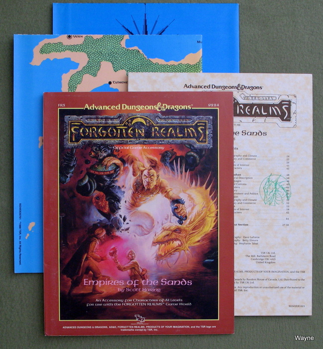 Image for Empires of the Sands (Advanced Dungeons & Dragons / Forgotten Realms Module FR3)