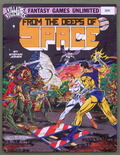 Image for From the Deeps of Space (Villains & Vigilantes)