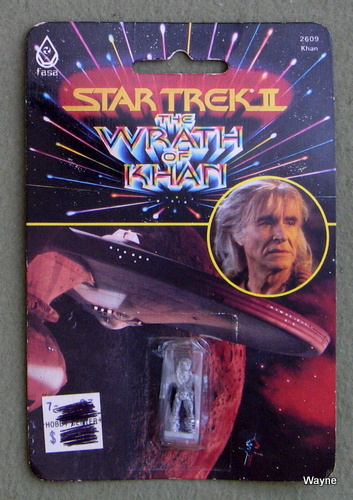 Image for Khan: Metal Miniature (Star Trek II: The Wrath of Khan)