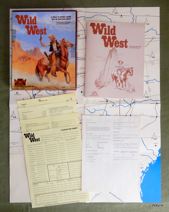 Image for Wild West: A Role Playing Game Set in the Wild West