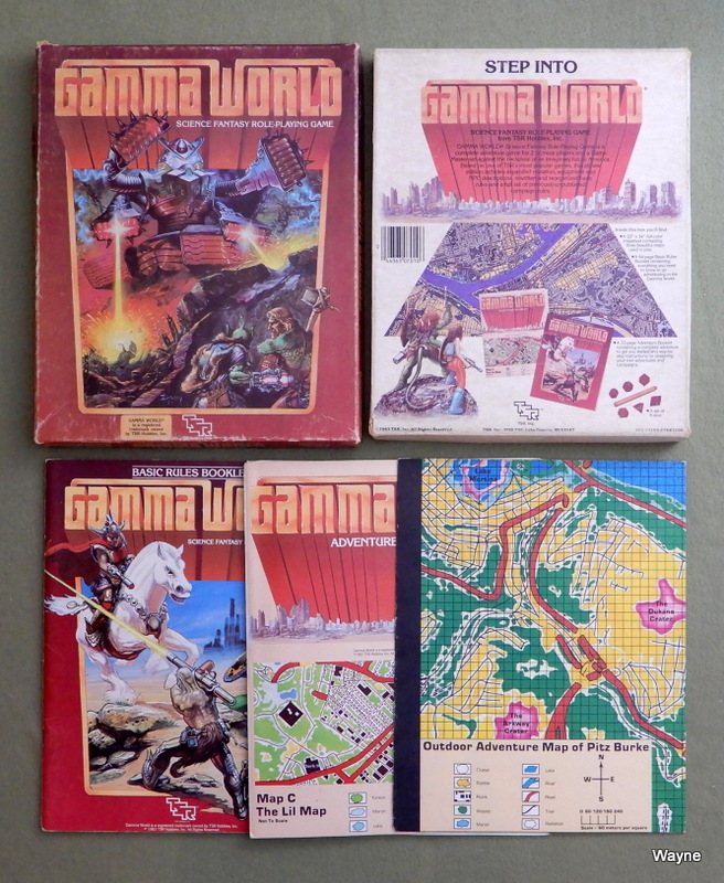Image for Gamma World: Science Fantasy Role Playing Game (2nd edition) - PLAY SET