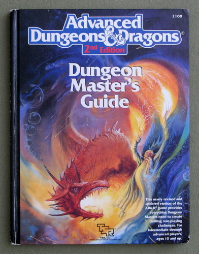 Image for Dungeon Master's Guide (Advanced Dungeon and Dragons, 2nd Edition)