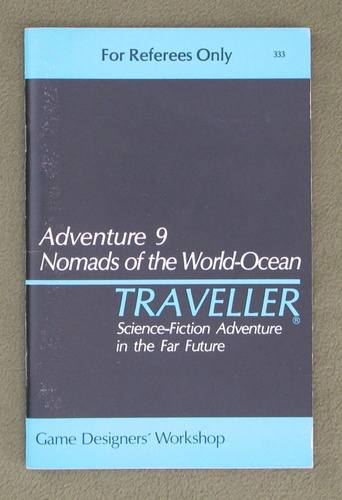 Image for Traveller Adventure 9: Nomads of the World-Ocean - 1ST PRINT