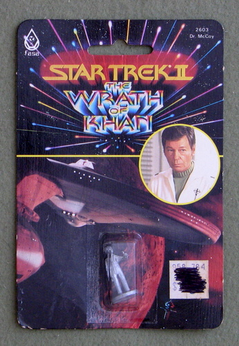 Image for Dr. McCoy: Metal Miniature (Star Trek II: The Wrath of Khan)