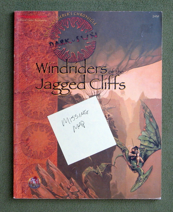 Image for Windriders of the Jagged Cliffs (Dark Sun Adventure/Accessory) - NO MAP