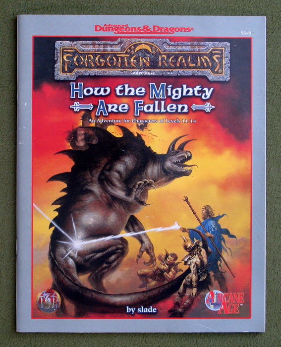 Image for How the Mighty Are Fallen (Advanced Dungeons & Dragons: Forgotten Realms Arcane Age: Netheril Adventure)