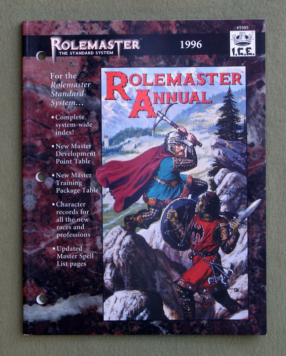Image for Rolemaster Annual 1996