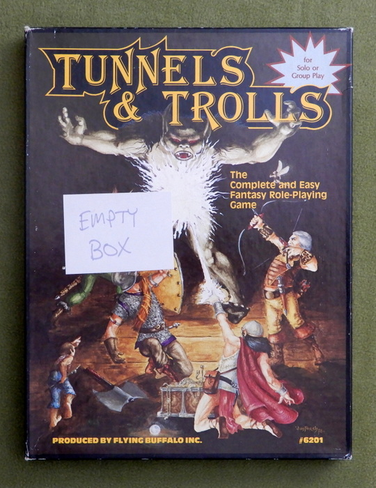 Image for Tunnels and Trolls (Fifth Edition) - BOX ONLY - EMPTY BOX