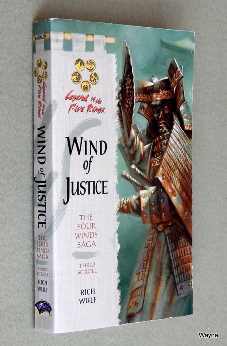 Image for Wind of Justice (Legend of the Five Rings: Four Winds Saga, Book 3)