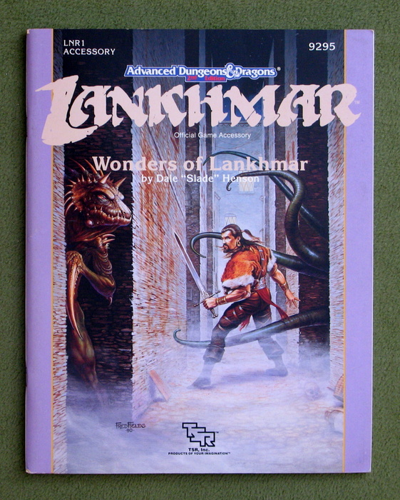 Image for Wonders of Lankhmar (Advanced Dungeons & Dragons / Lankhmar Module LNR1)