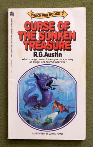 Image for The Curse of the Sunken Treasure (Which Way, No 7)