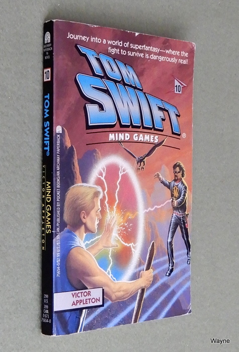 Image for Mind Games (Tom Swift #10)