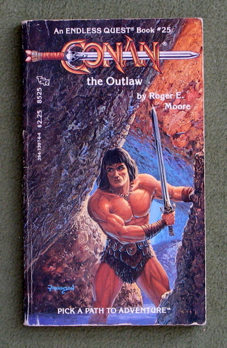 Image for Conan the Outlaw (Endless Quest Book 25: Pick a Path to Adventure Series)