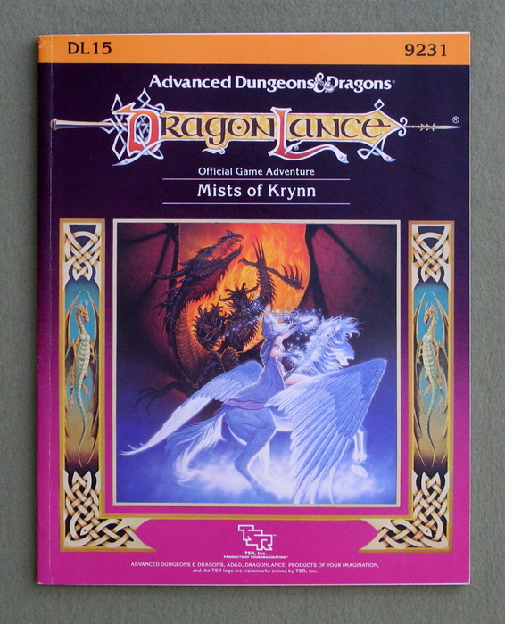 Image for The Mists of Krynn (Advanced Dungeons & Dragons: Dragonlance Module DL15)