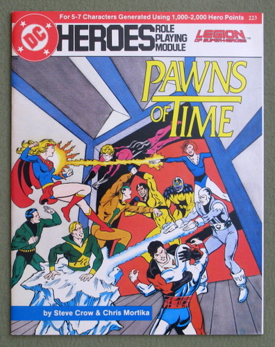 Image for Pawns of Time (DC Heroes RPG)