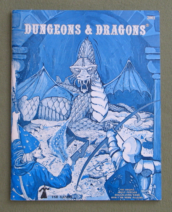 Image for Dungeons & Dragons (Classic Blue Book)