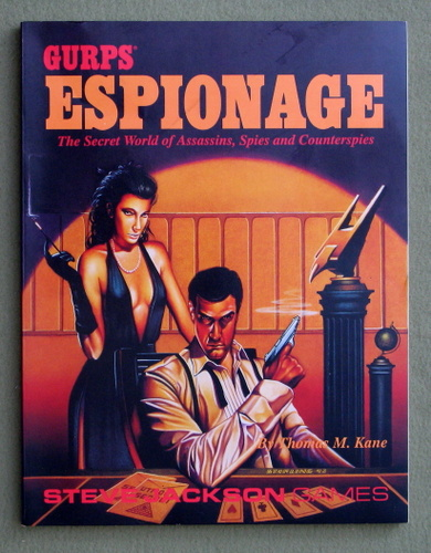 Image for GURPS Espionage: The Secret World of Assassins, Spies and Counterspies