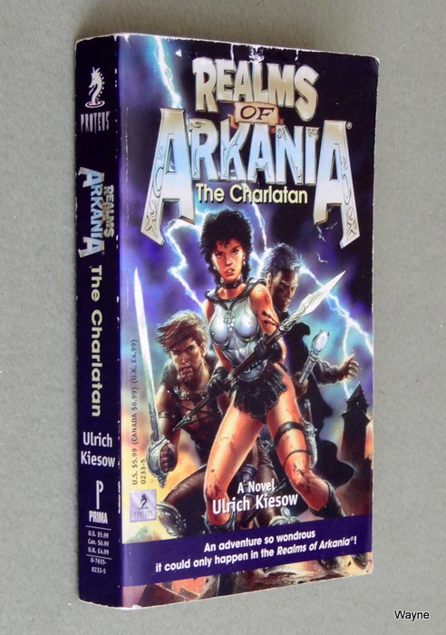 Image for Realms of Arkania: The Charlatan : A Novel (Realms of Arkania)