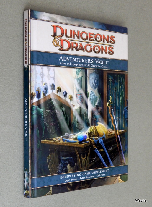 Image for Adventurer's Vault (Dungeons & Dragons, 4th Edition)