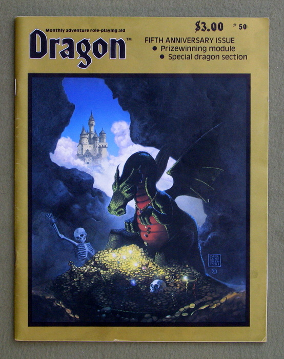 Image for Dragon Magazine, Issue 50