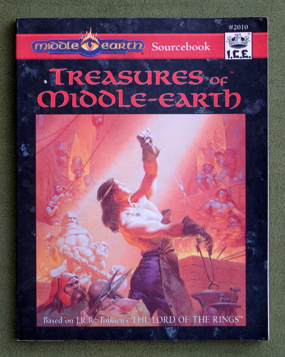 Image for Treasures of Middle-earth (MERP/Middle Earth Role Playing, 2nd Edition)