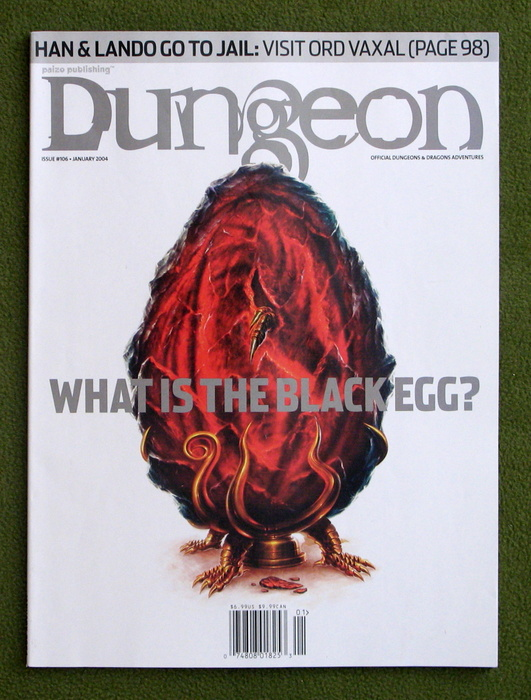 Image for Dungeon Magazine, Issue 106 (January 2004)