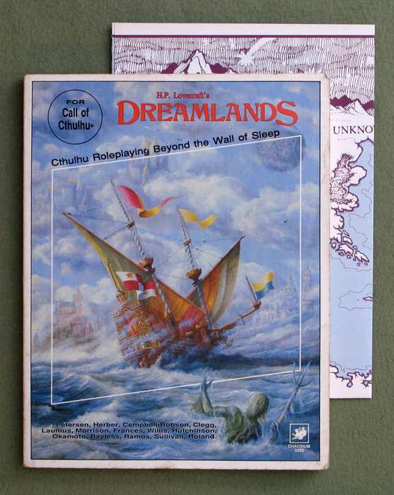 Image for H.P. Lovecraft's Dreamlands, 2nd edition (Call of Cthulhu: Roleplaying Beyond the Wall of Sleep) - PLAY COPY