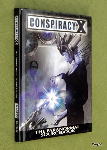 Image for Paranormal Sourcebook (Conspiracy X 2.0)