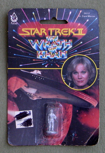 Image for Dr. Carol Marcus: Metal Miniature (Star Trek II: The Wrath of Khan)