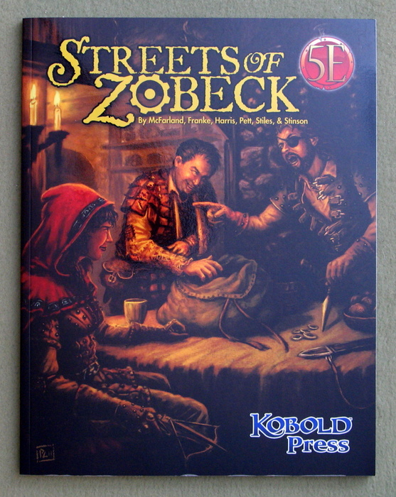 Image for Streets of Zobeck (Dungeons & Dragons, 5th Edition)