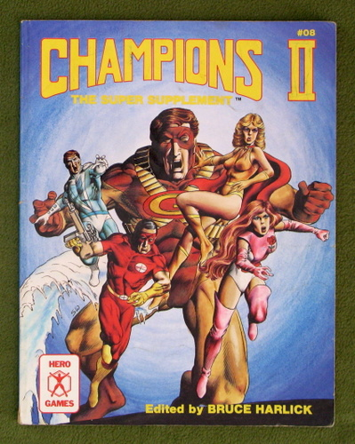 Image for Champions II: The Super Supplement - PLAY COPY