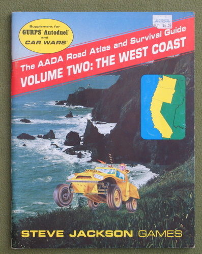 Image for The AADA Road Atlas and Survival Guide, Volume 2: The West Coast (GURPS Autoduel/Car Wars)