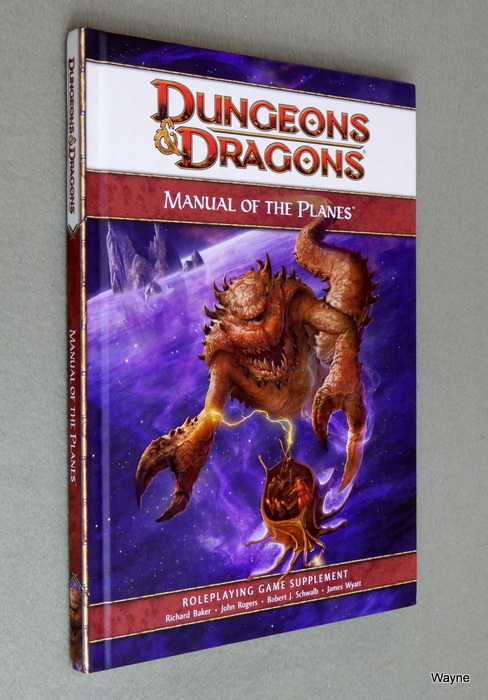 Image for Manual of the Planes (Dungeons & Dragons 4th Edition D20 Supplement)