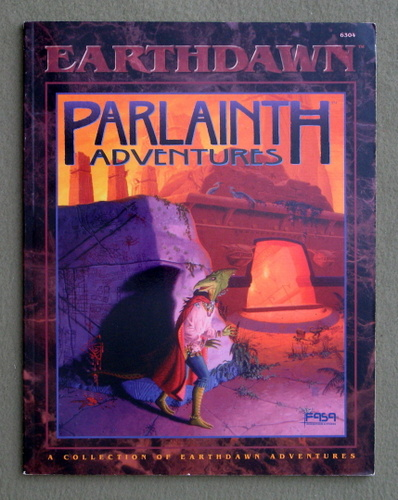 Image for Parlainth Adventures (Earthdawn RPG)