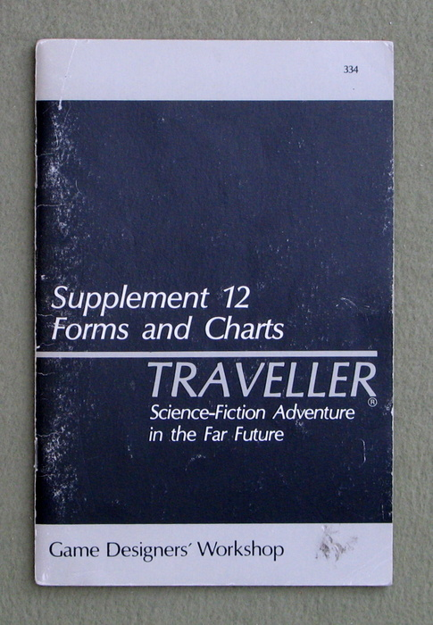 Image for Traveller Supplement 12: Forms and Charts - PLAY COPY