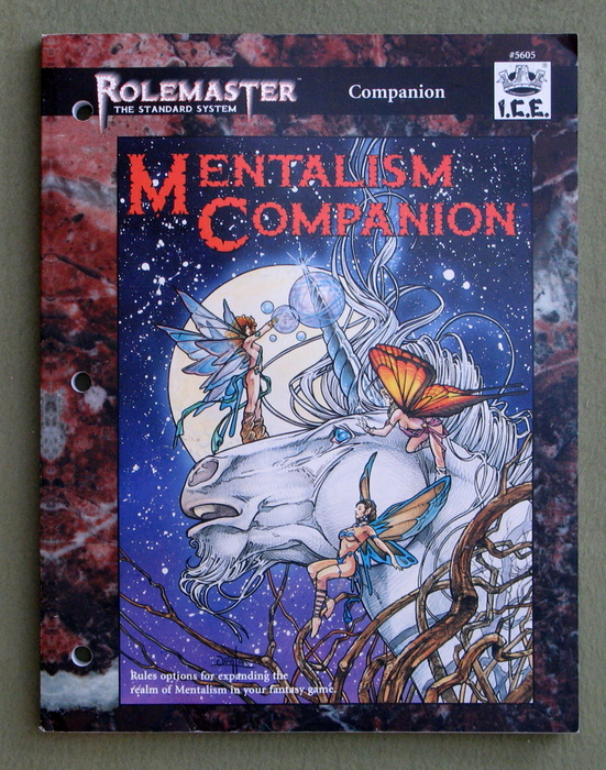 Image for Mentalism Companion (Rolemaster Standard System)