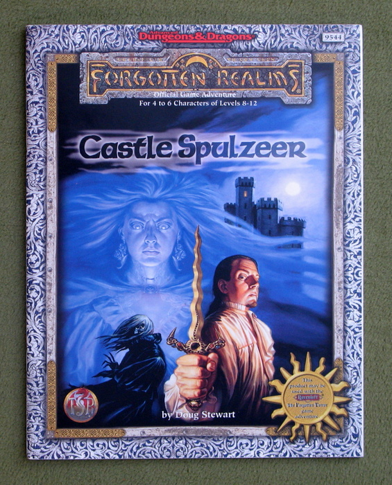 Image for Castle Spulzeer (Advanced Dungeons & Dragons: Forgotten Realms Adventure)