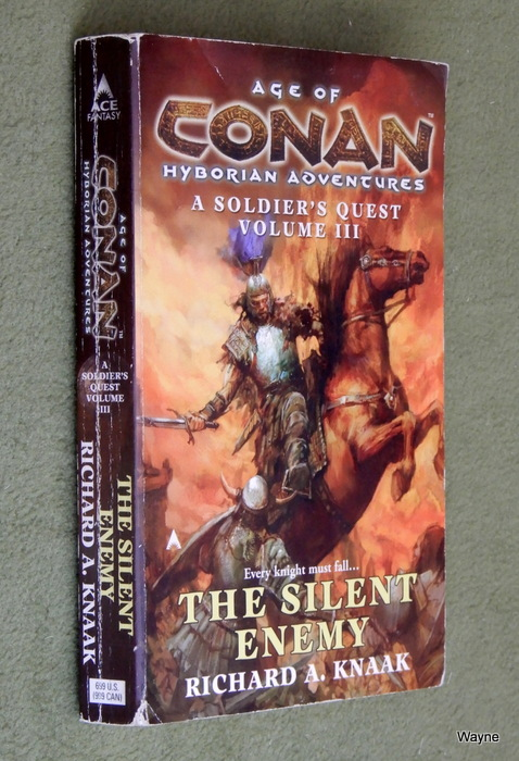 Image for Age of Conan: The Silent Enemy (A Soldier's Quest, Volume 3)