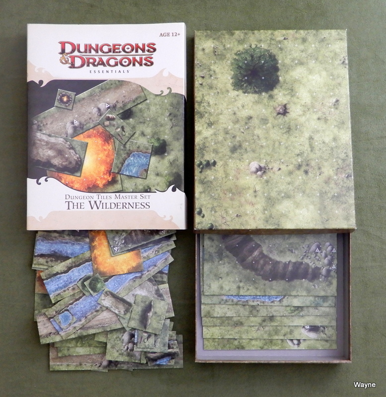 Image for Dungeon Tiles Master Set - The Wilderness (Dungeons & Dragons Essentials)