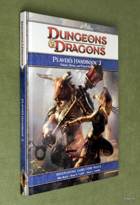 Image for Player's Handbook 3: A 4th Edition D&D Core Rulebook