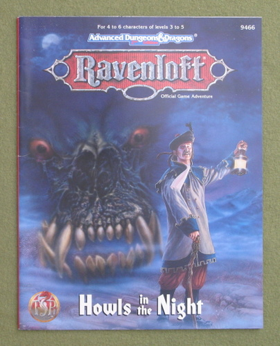 Image for Howls in the Night (Advanced Dungeons & Dragons: Ravenloft)