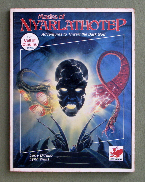 Image for Masks of Nyarlathotep: Adventures to Thwart the Dark God (Call of Cthulhu RPG) - PLAY COPY